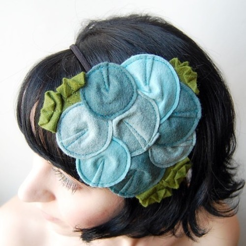 Giant Dwarf // Rosette Fascinator // The Oceanic by giantdwarf