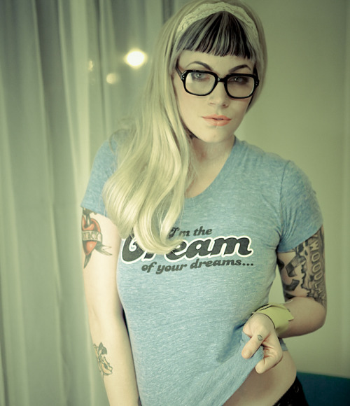 Motel Cream's creative founder and lover Maggie Six by Alissa Brunelli.   Don't forget, use CRASH for 20% your order until the end of the month.