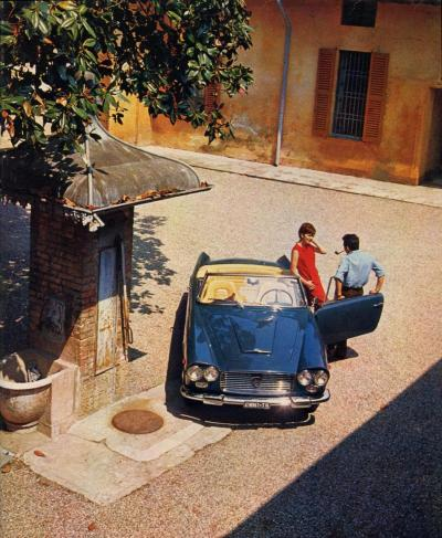terta:  Lancia Flaminia 3C Convertible (the guy with the pipe - übercoolness)