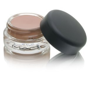 "One of the products that I pretty much use on a daily basis is MAC's ""Groundwork"" Paint Pot. A paint pot is pigmented eye color that gives your shadow a vibrant finish. It's a cream base, very light and also prevents creasing which used to be a big problem for me. I use this one specifically as a base because it's close to my skin tone and some people use it as shadow as well. When i'm doing my ""every day look"" I throw this on completely covering my lid, add a dark brown in the crease, a highlight and I'm good to go. Just so you can see exactly how it works:  These are exactly the same color. MAC's ""Sushi Flower"" shadow. The one on the top is dry, applied directly with no base. The one underneath is the same color on top of the Groundwork Paint Pot. And you can always add more or less to get the color you desire. I love this stuff. They cost $16.50 a pot and last an extremely long time, this coming from someone who uses it almost every day. I suggest getting one closest to your skin tone to start off with and then go from there as you experiment with other colors."
