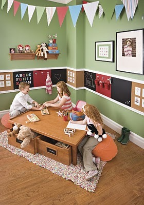 Design Dazzle: Playrooms: Creative Ideas