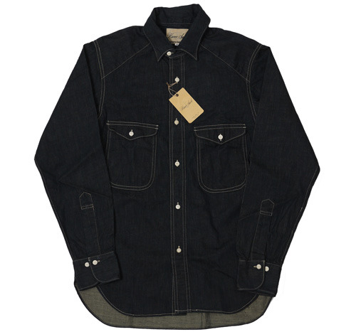 Haversack Indigo Denim Shirt