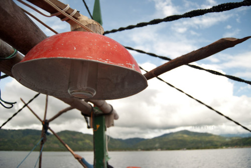Ingenuity.  ___________________________________ Aboard the boat at Pujada Bay, Mati. See the Bukidnon-Mati Field Photoset.