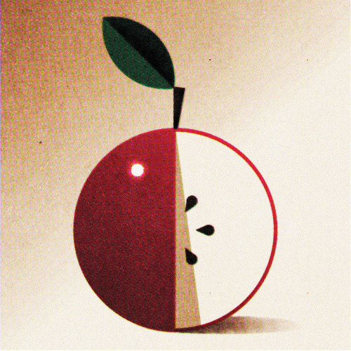 Designersgotoheaven.com by @andreirobu Still Life with Apple (by Ned Wenlock)