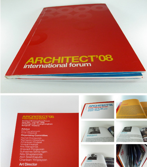 title: Architect'08 International Forumclient: Asa