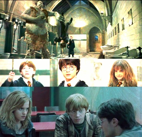 … from that moment on, Hermione Granger became their friend. There are  some things you can't share without ending up liking each other, and  knocking out a twelve-foot mountain troll is one of them.  J.K.Rowling {Harry Potter and the Philosopher's Stone}