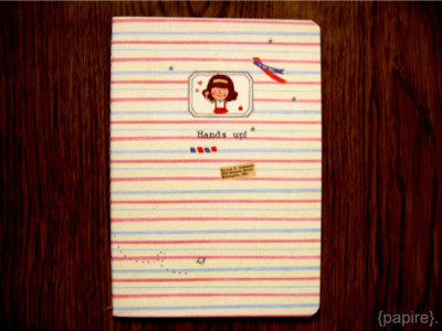 Hands Up Notebook Series Design: Girl On Pastel Lines Type: Notebook Dimension: 14.4 * 20.7 cm 26 sheets/ 52 pages Card Stock Cover Ruled Pages Rounded Corners Stitched Edges 4 Designs available in this series SGD$3.00 each Detail: