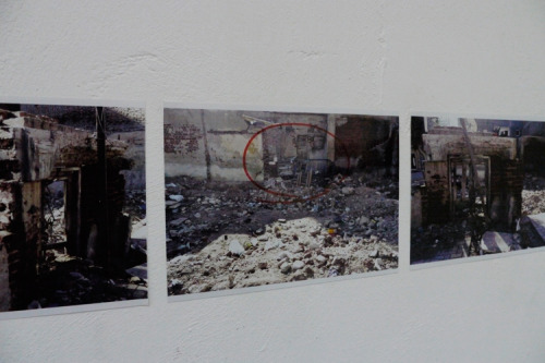 Eman Ebrahim, Untitled, photographic installation, 2010