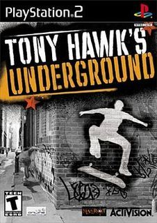 Tony Hawk's underground. I would go as far as to say that no game has ever had a better soundtrack. Skate quickly became boring, and this could partly be due to the slow, twangy indie/classic rock soundtrack. Maybe also it was the fact that the game tried to stop me being insane by having a semi-realistic learning curb. If I wanted reality I'd go out and skateboard for real, and I havent done that in a long time for that very reason. I could fall off a rollercoaster on Tony Hawks and carry on rolling. It made no sense, and it was awesome. If I fall over in real life then I'll graise my knee, which I don't want to do. That said I do actually miss skateboarding on some level. Hanging out with friends on Penance waterfront, falling into gravelly deathtraps fucking up pop-shuvvits off the abandoned Jewsons warehouse…It's just that until recently, the soundtrack to pretend skateboarding was better that the real thing. Aaaaah pop punk and such.  There are no better soundtracks than this game, unless maybe another Tony Hawks soundtrack. Anyone says anything different and I'll punch you right in the kisser.  I love life.