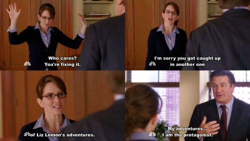 30 Rock - S5E11 - Mrs. Donaghy My adventures, I am the protagonist. Follow Captured Captions via katedfisher: