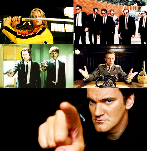 versoaverso:  50 Favorite People | Quentin Tarantino  When people ask me if I went to film school I tell them, 'no, I went to films.'