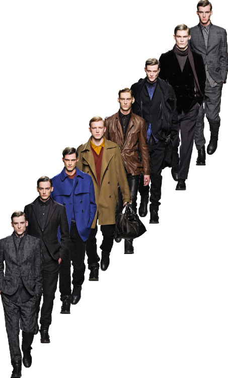 milan menswear : the urban gentlemen of bottega veneta.