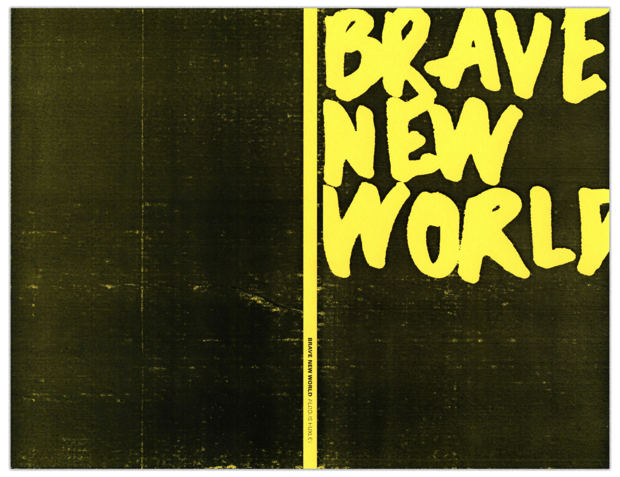 Book cover for Brave New World.
