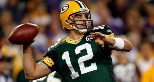 Aaron Rodgers, Hallowed be thine arm. Thy bowl will come, it will be won, in Dallas as it was in Lambeau. Give us this Sunday our weekly win and forgive the less-passers as you will not let them pass against us. Lead us not into frustration, but deliver us from Bears. For thine is the MVP, the best of the NFC, and…… the glory of the Cheeseheads, now and forever. Go get'em. Amen.