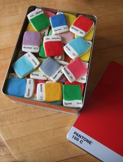 Pantone Chip Cookies by Kim Neill