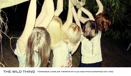THE WILD THING fernanda camila's t-shirts styled and photographed cinq