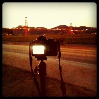 A shot of the shot (Taken with Instagram at Crissy Field)