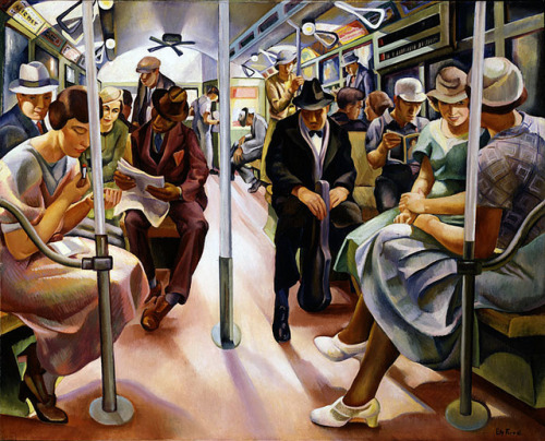 Subway (1934) , Lily Furedi Via nevver