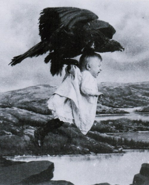 Jinnie Frazier is kidnapped in [spoiler!] Rescued from an Eagle's Nest (1908, dir. Edwin S. Porter) (via)