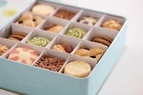 biscuit assortment!