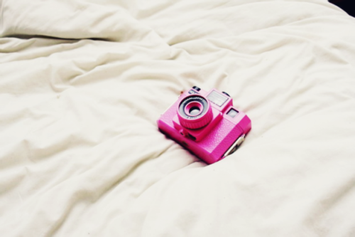 Little pink camera A lot of inspiration