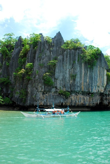 off to Underground river, Palawan, Philippines