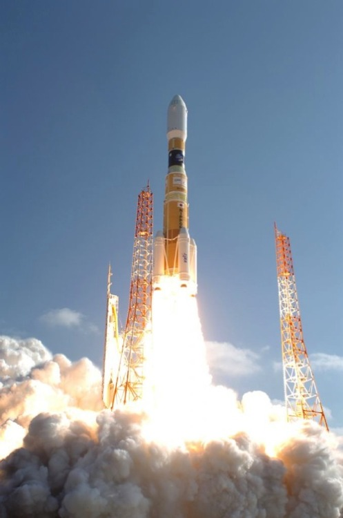 Spaceflight Now | HTV Mission Report | Japanese rocket launches cargo freighter