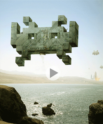 Space Invaders - Check out this great GIF by Quest007