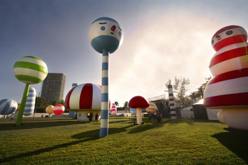 FRIENDS WITH YOU - RAINBOW CITY @ ART BASEL Dec 1, 2011  http://bit.ly/hxEImM