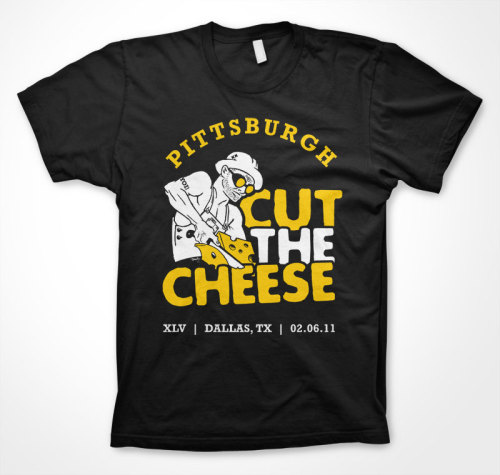 the new jam for the big game: CUT THE CHEESE.
