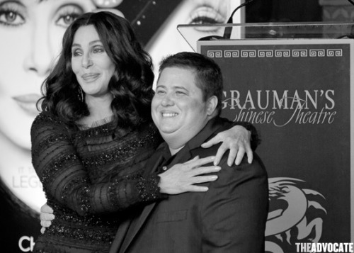 "Chaz's Breast Removal Terrified Cher The Advocate reports:  With his girlfriend and his stepmom, Rep. Mary Bono Mack, in attendance, Chaz Bono premiered his documentary, Becoming Chaz, at Sundance over the weekend.Oprah snapped up the rights to air the documentary on her OWN network before its Park City, Utah, debut. The movie chronicles Chaz's transition from female to male.""I wanted to do this because I wanted to help people,"" he told E! Online.""And I knew that…I could put a face on this issue that people just don't understand because it's a hard one to understand. I wanted to be able to change people's hearts and minds on this.""In the film, Chaz is shown having his breast-removal surgery — and Cher admits she was ""terrified"" to see her son after the procedure. Cher also says in the film she thinks her Chaz's father, Sonny Bono, would have supported their son's transition.For more on the documentary, click here, and click here for pics of Chaz and his girlfriend, Jennifer Elia."