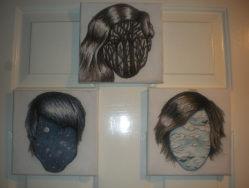 These are the final paintings on my door, and with some more detail on. Literally can't wait for the 11th, and being part of the street team is going to be amazing!!! Ah best crack on with some more research.
