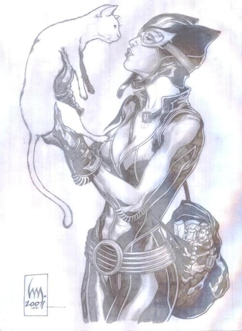 Catwoman by Heubert Khan Michael