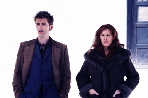 The Doctor and Donna Noble. Forever ♥