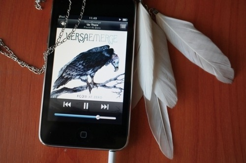 Absolutely Love the feathers and the song on that ipod!!