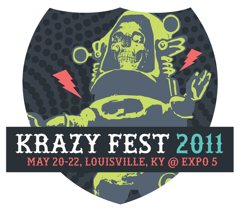 Krazy Fest 2011 line-up getting underway. Just a teaser for now – a lot more bands will be added in the coming weeks.