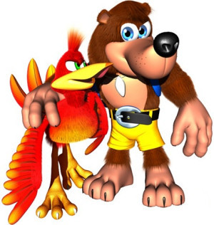 The only video game duo that made whacking people with your backpack and stuffing a giant bird in it fun.
