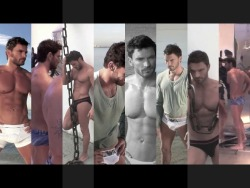 Julian Gil - HOT! making of calendar (VIDEO -from his YT channel-) you can even see his dick :D