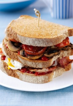 Triple Breakfast Stack.