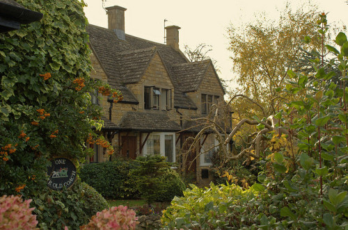 politicsandcupcakes:  lottietea:  Cottage in the Cotswolds, England