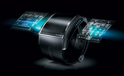 HD3 Slyde a touchscreen watch.