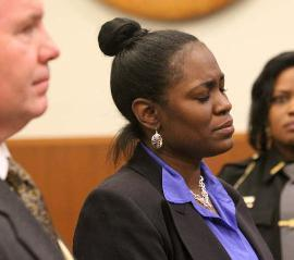 Convicted of a felony for sending her children to school in the wrong school district and unable to receive her teaching degree because of the felony. Couldn't ask for a better example of intersectionality— how anti-black racism, gender and poverty intersect—to reinforce this woman's status as a non-citizen, bad mother and felon. This violation of human rights is only possible due to the racial segregation in US schools and neighbourhoods and the relegation of poor black people to second-class citizens who are seen as seeking to defraud the state.  If this woman and her children were seen as citizens with the right to the best education possible she would never face a day in court.  Come talk to us on facebook. image & story source: Dr. Boyce Watkins