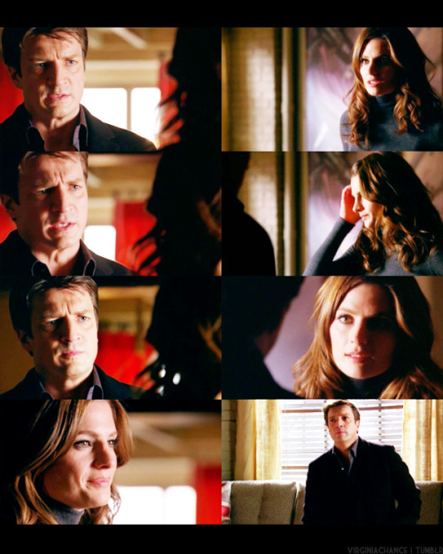 Beckett: Look, I signed up for this one. I put that badge on. You didn't. It's not your fight.Castle: The hell it isn't. I don't hang around you just to annoy you. I don't ride out to murder scenes in the middle of the night to satisfy some morbid curiosity. If that's all this was, I would have quit a long time ago.Beckett: Well then, why do you keep coming back, Rick?Castle: Look, I may not have a badge - unless you count the chocolate one Alexis gave me for my birthday. But I tell you this - like it or not, I'm your plucky sidekick.Beckett: 'Plucky sidekick' always gets killed.Castle: Partner, then.Beckett: Okay. - Castle 3x13: Knockdown