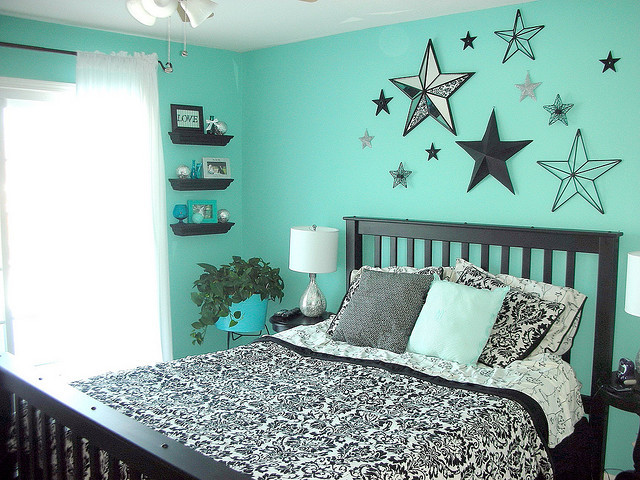 starryme16:  Teal Bedroom (by Beth Morgan+ Add Contact)