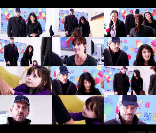 Cuddy: So sweet of you coming to this.House: Just trying to be supportive. I've heard that's what boyfriends do. [Cuddy smiles. Rachel runs out and goes straight to Cuddy.]Cuddy: Hi, honey, hi. Did you have fun? [Rachel nods.] Yeah?Teacher: Rachel had a great time - played with everything. She's a very clever girl. I'm sorry to ask this but we've had some problems with parents coaching kids. Rachel caught on to our toys unusually quickly, and she even knew the game was called 'Feed The Monkey'.Cuddy: Well, as eager as I am to have her go here, I promise you I would never do that. [Cuddy laughs and glances at House.] Hey Rachel, you ever played 'Feed The Monkey' before?Rachel: No, mama. [House smiles.]  - House 7x10: Carrot Or Stick