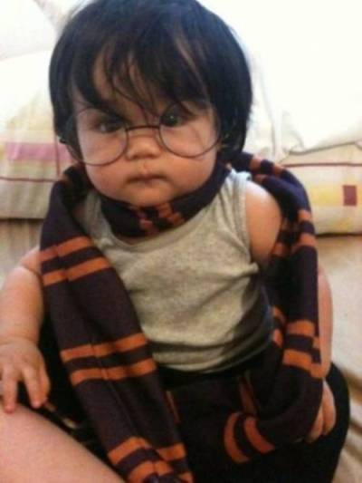 Asian baby Harry Potter!