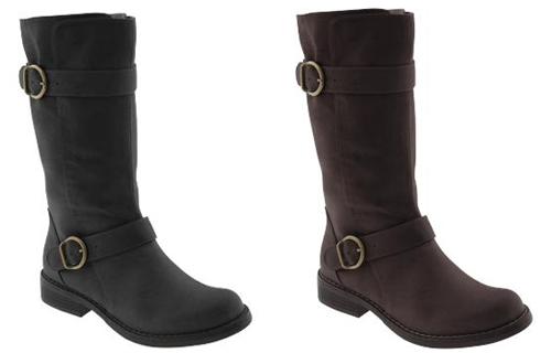 Double-Buckle Boot - $39.50 whole lotta stylin' boot for not a whole lotta dollars!  impressive, old navy, very impressive.