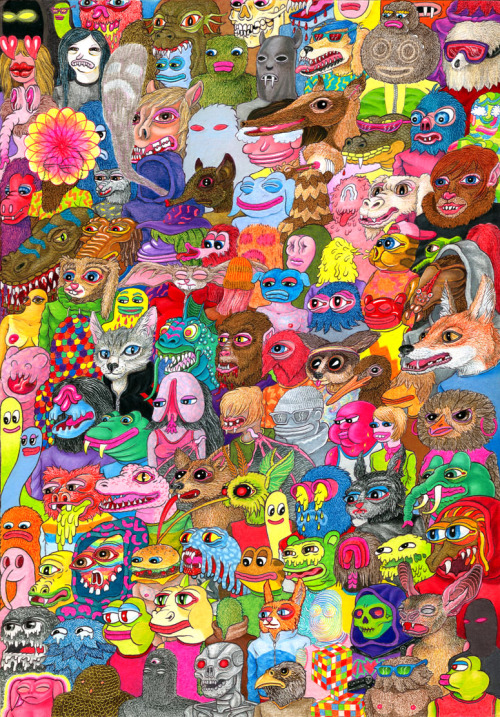 drawing by Matt Furie