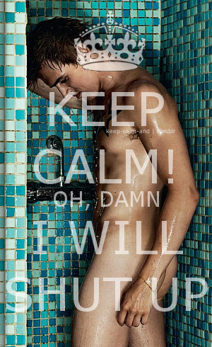 Keep calm! Oh, damn. I will shut up