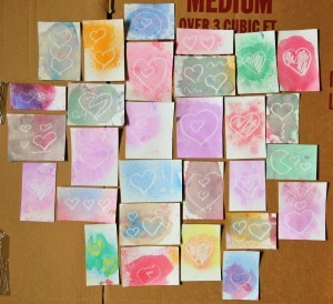 teachpreschool:  Secret Heart Valentines « One Inch World